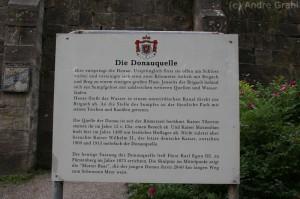 Die Donauquelle