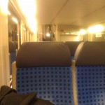 Im Zug nach Düsseldorf