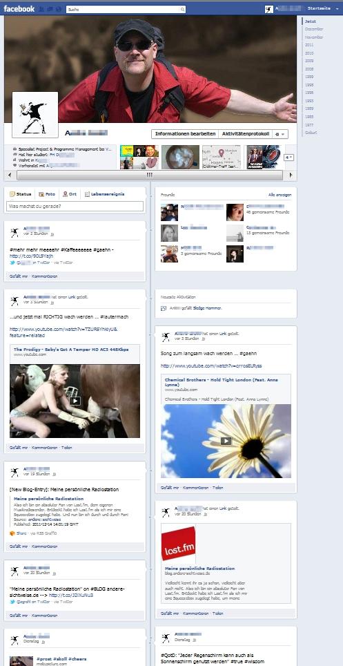 My-Facebook-Timeline