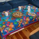 Mein erster Geburtstag - Wohnzimmertisch