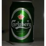 dänisches Bier -- Carlsberg