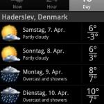 Wetter - Haderslev
