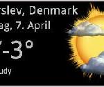 Kalt ist es in Dänemark