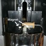 Jura S9 - Magnete