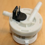 Jura S9 - Flowmeter ausgebaut