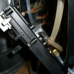 Jura S9 - Anschlüsse am Keramikventil