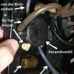 Jura S9 - Keramikventil Details