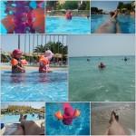 Der Pool und das Meer