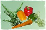 Vegetarisch kann auch lecker sein
