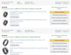 Amazon-Lieferung