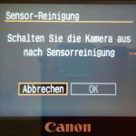 Sensor-Reinigung 2